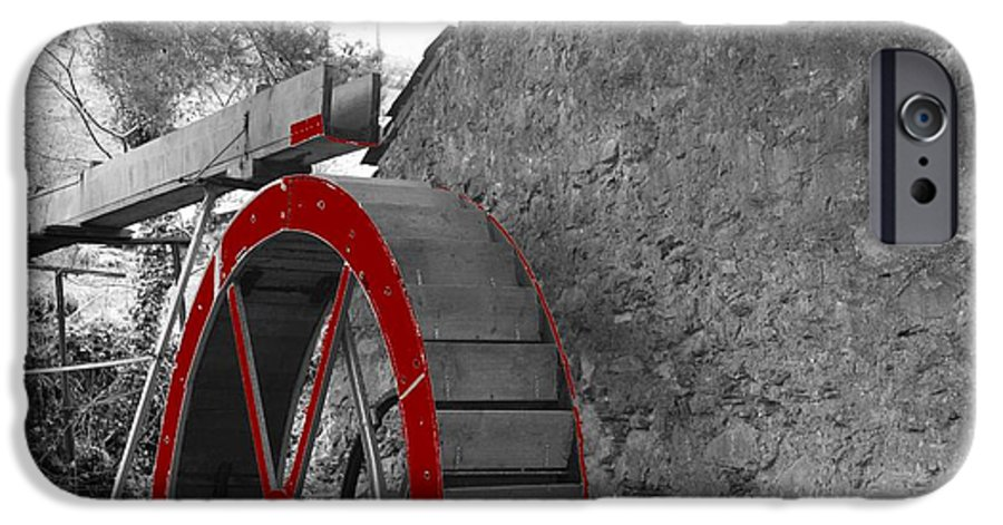 Water IPhone 6s Case featuring the photograph Water Wheel. by Christopher Rowlands