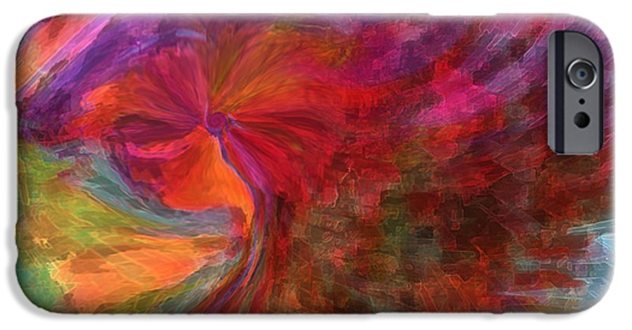 Woman Art IPhone 6s Case featuring the digital art Women by Linda Sannuti
