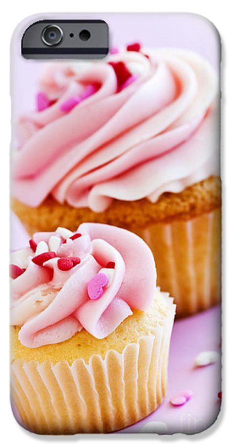 Cupcakes IPhone 6s Case featuring the photograph Cupcakes by Elena Elisseeva