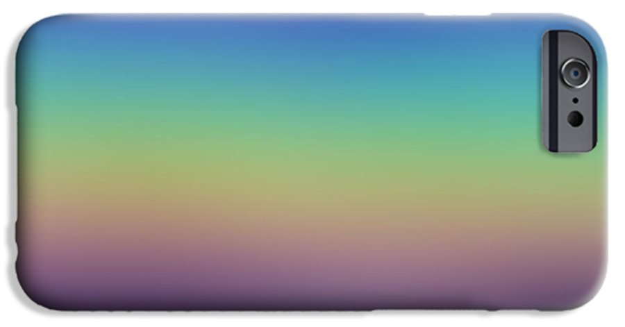 Evening.colors.silince.rest.sky.sea.clean Sky.violet.blue.yellow.rose.darkness. IPhone 6s Case featuring the digital art Evening by Dr Loifer Vladimir