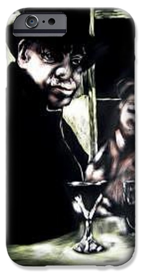 Commentary IPhone 6s Case featuring the mixed media My Old New Orleans by Chester Elmore