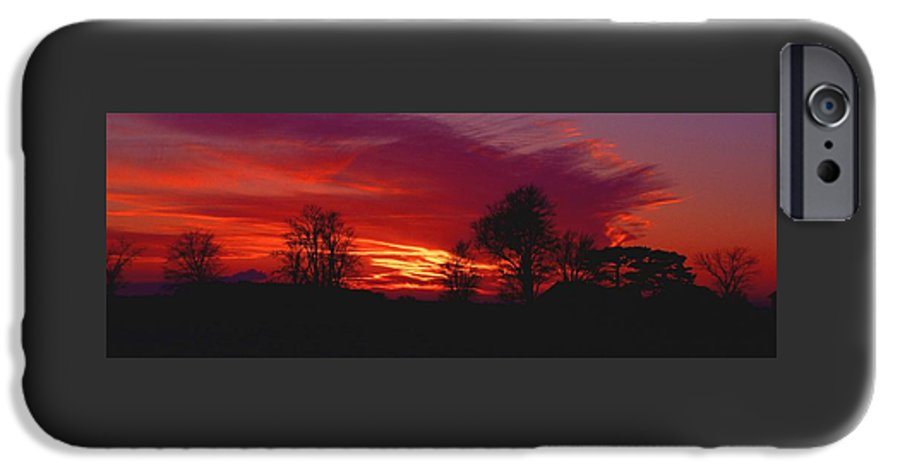 Sunset IPhone 6s Case featuring the photograph 022107-37 by Mike Davis