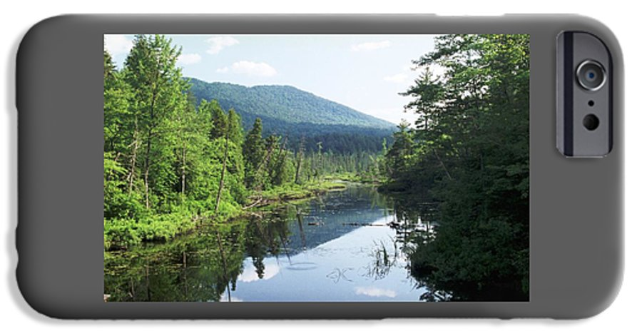 Mountain IPhone 6s Case featuring the photograph 070506-84 by Mike Davis