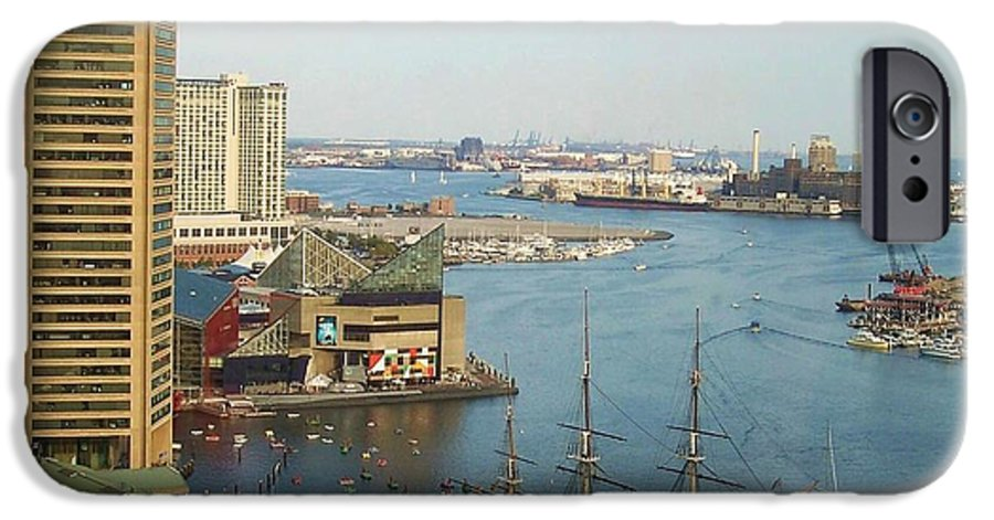 Baltimore IPhone 6s Case featuring the photograph Baltimore by Debbi Granruth
