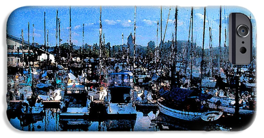 Capital IPhone 6s Case featuring the photograph Percival Landing by Larry Keahey