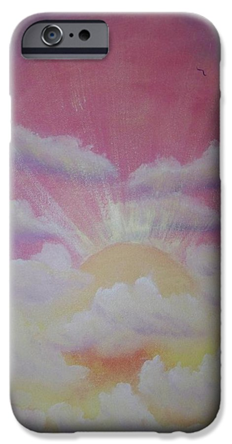 Bird IPhone 6s Case featuring the painting The Ascension by Laurie Kidd