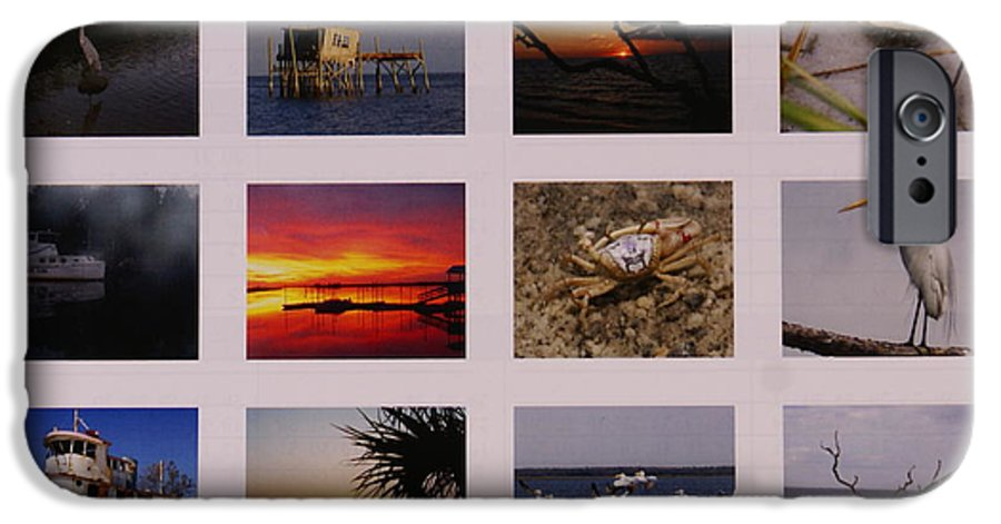 Florida IPhone 6s Case featuring the photograph 2008 Calendar Back Of Gulf Views Edition by Debbie May