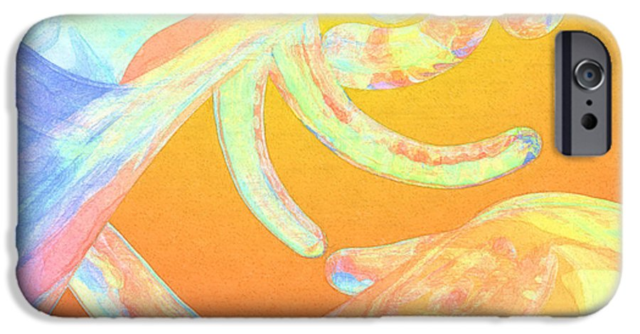 Abstract IPhone 6s Case featuring the photograph Abstract Number 1 by Peter J Sucy