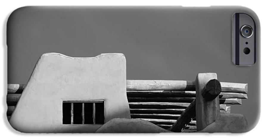 Architecture IPhone 6s Case featuring the photograph Adobe Turrett by Rob Hans