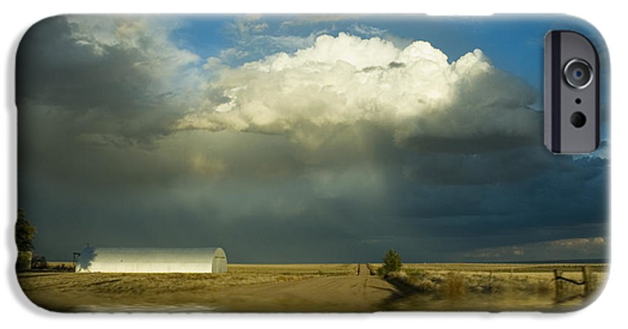 Storm IPhone 6s Case featuring the photograph After The Storm by Jerry McElroy
