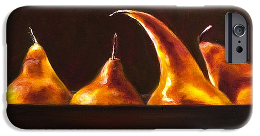 Pears IPhone 6s Case featuring the painting All Aboard by Shannon Grissom