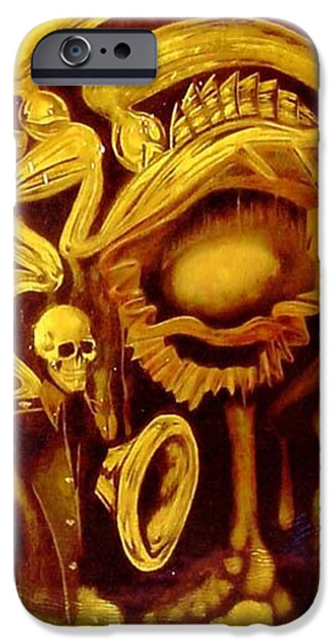 Birth IPhone 6s Case featuring the painting Alpha Omega by Will Le Beouf