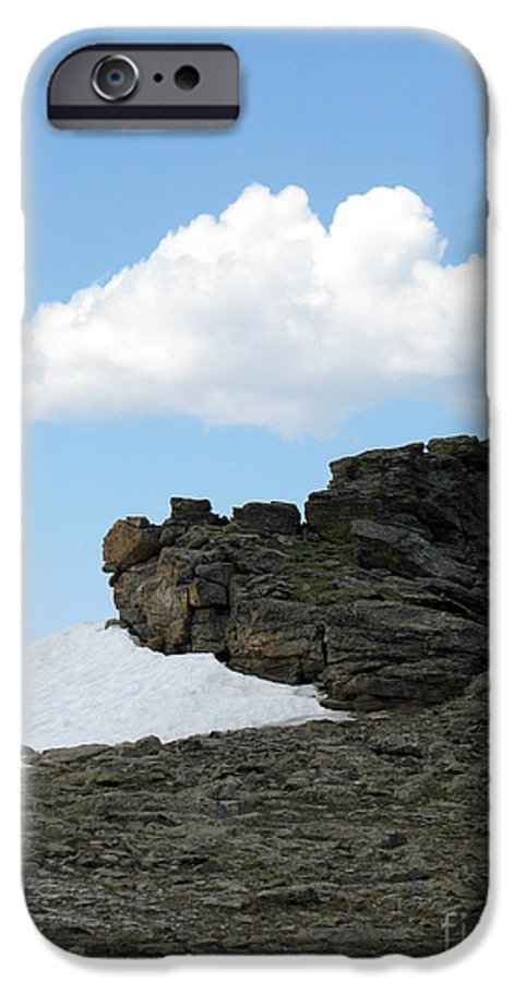 Rocky Mountains IPhone 6s Case featuring the photograph Alpine Tundra - Up In The Clouds by Amanda Barcon