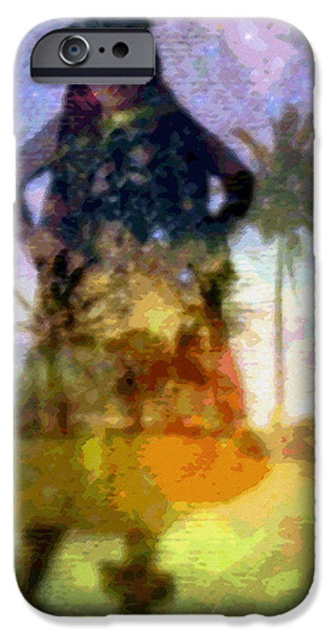 Tropical Interior Design IPhone 6s Case featuring the photograph Aluna Ahiahi Hula by Kenneth Grzesik
