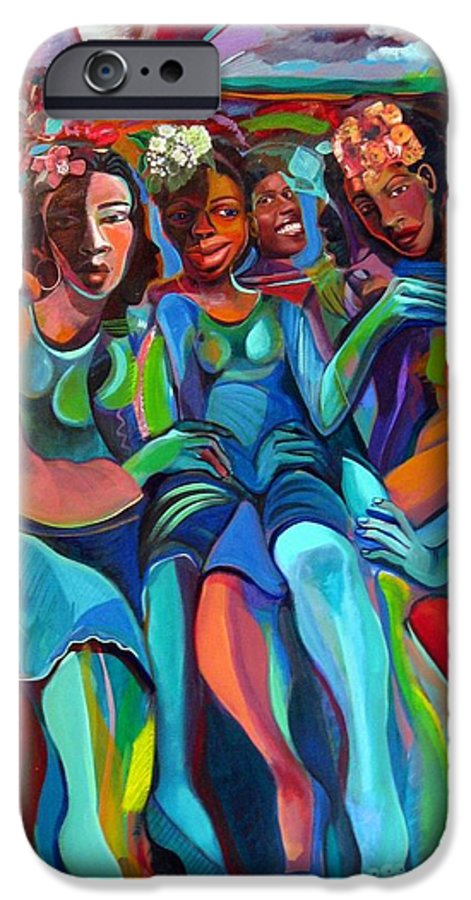 Women IPhone 6s Case featuring the painting Always by Joyce Owens