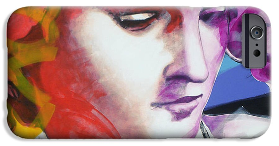 Pop IPhone 6s Case featuring the painting Angel by Jean Pierre Rousselet