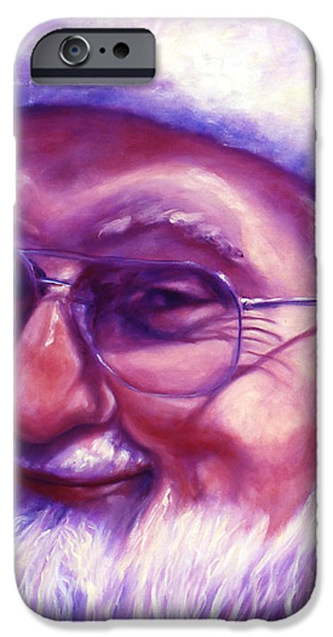 Portrait IPhone 6s Case featuring the painting Are You Sure You Have Been Nice by Shannon Grissom