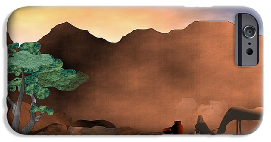 Arizona IPhone 6s Case featuring the digital art Arizona Sky by Arline Wagner