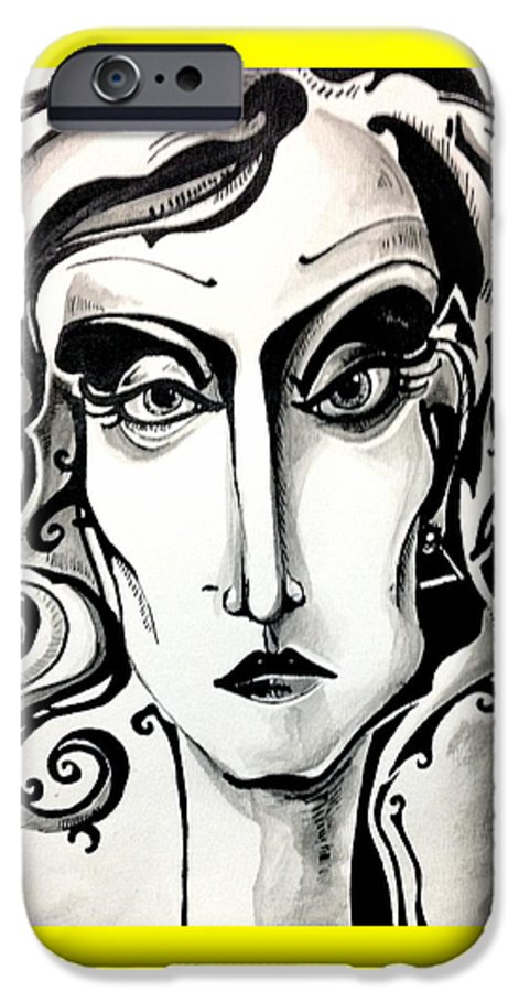 Women IPhone 6s Case featuring the painting The View by Brittney Norton