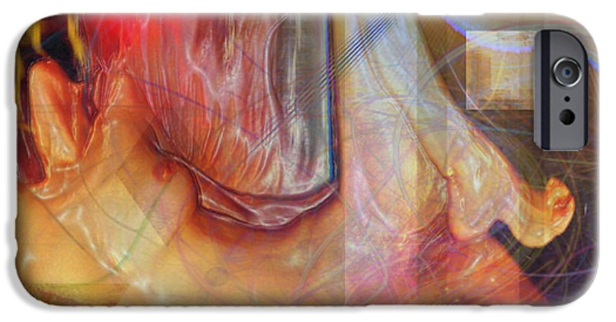 Passion Play IPhone 6s Case featuring the digital art Passion Play by John Beck