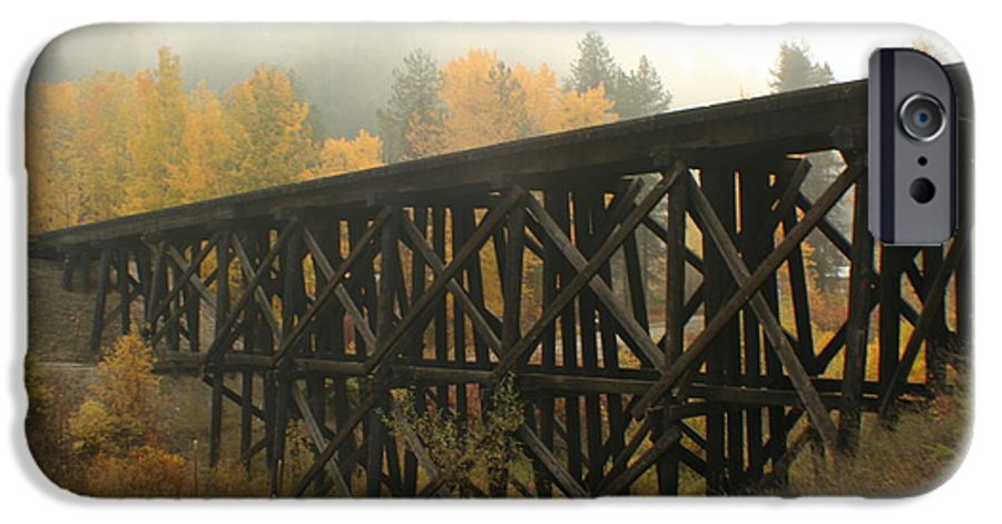 Trestle IPhone 6s Case featuring the photograph Autumn Trestle by Idaho Scenic Images Linda Lantzy