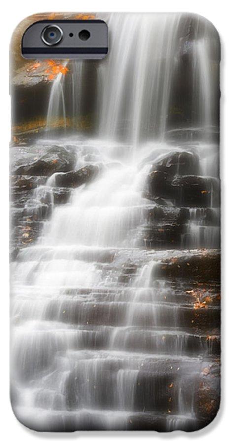 Autumn IPhone 6s Case featuring the photograph Autumn Waterfall II by Kenneth Krolikowski