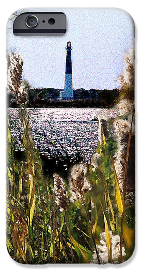 Barnegat IPhone 6s Case featuring the digital art Barnegat Bay by Steve Karol