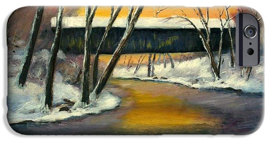 Kentucky IPhone 6s Case featuring the painting Bennett by Gail Kirtz