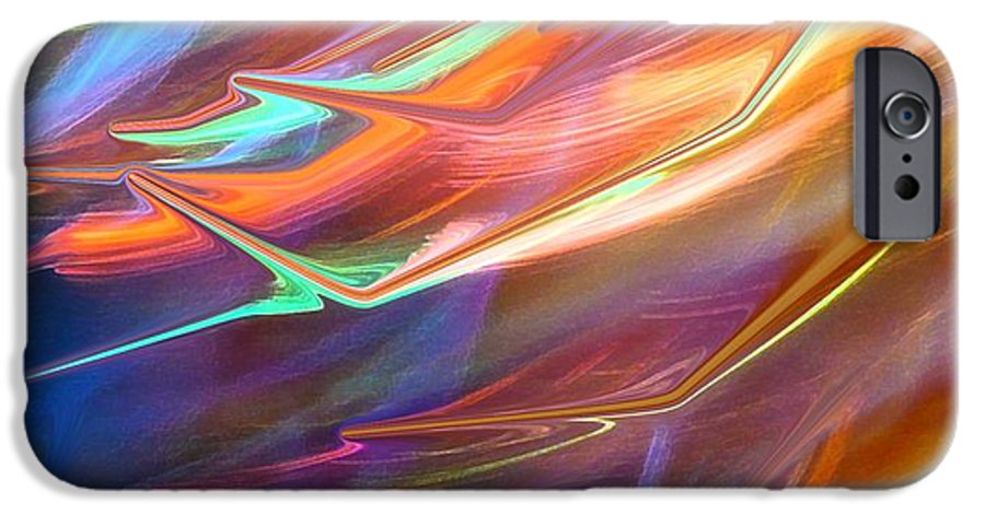 Abstract IPhone 6s Case featuring the photograph Blown Away by Florene Welebny