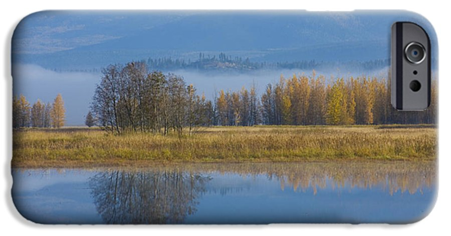 Blue IPhone 6s Case featuring the photograph Blue And Gold by Idaho Scenic Images Linda Lantzy