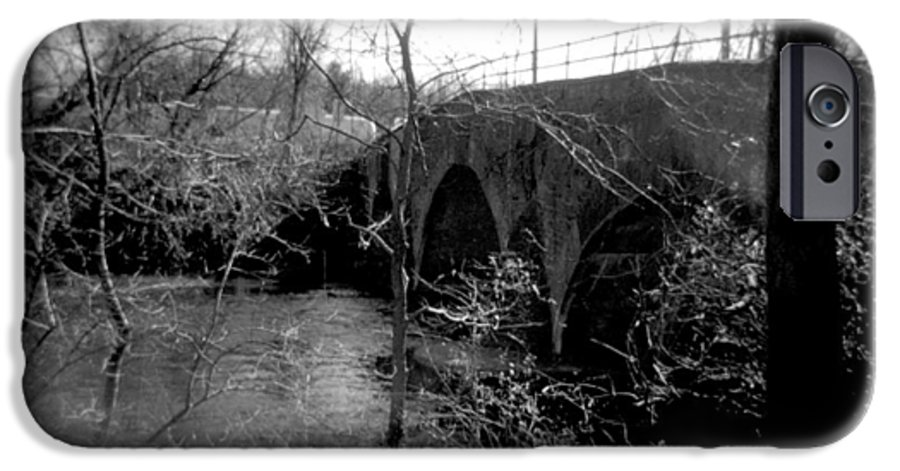Photograph IPhone 6s Case featuring the photograph Boiling Springs Bridge by Jean Macaluso