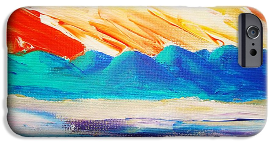 Bright IPhone 6s Case featuring the painting Bold Day by Melinda Etzold