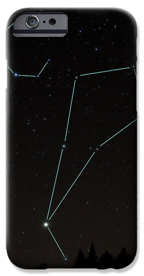 timeless design a90b2 06fb7 Bootes And Corona Borealis Constellations IPhone 6s Case