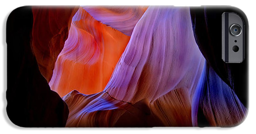 Canyon IPhone 6s Case featuring the photograph Bottled Light by Mike Dawson