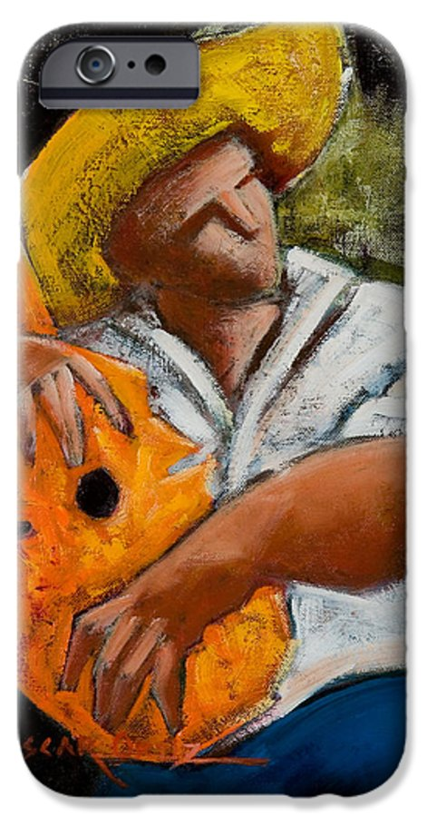 Puerto Rico IPhone 6s Case featuring the painting Bravado Alla Prima by Oscar Ortiz