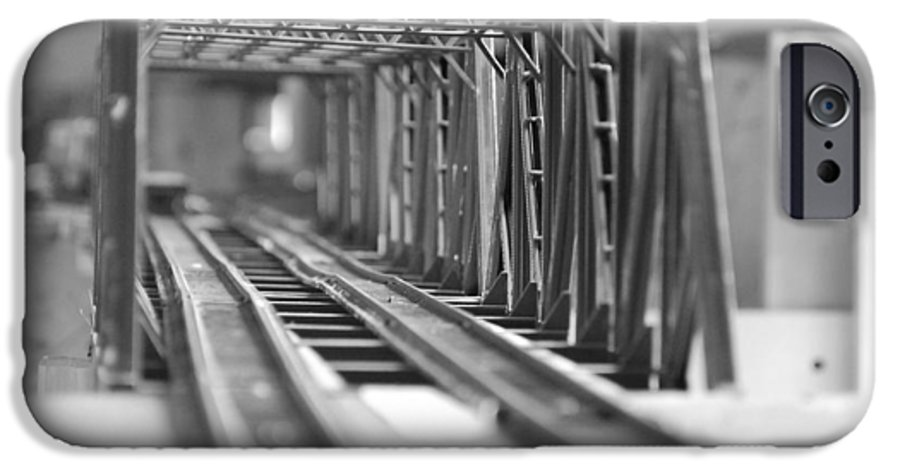 Models IPhone 6s Case featuring the photograph Bridge To Jerry Town by Margaret Fortunato