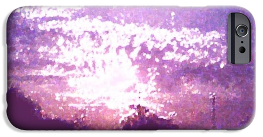 Evening IPhone 6s Case featuring the digital art Bright Evening by Dr Loifer Vladimir
