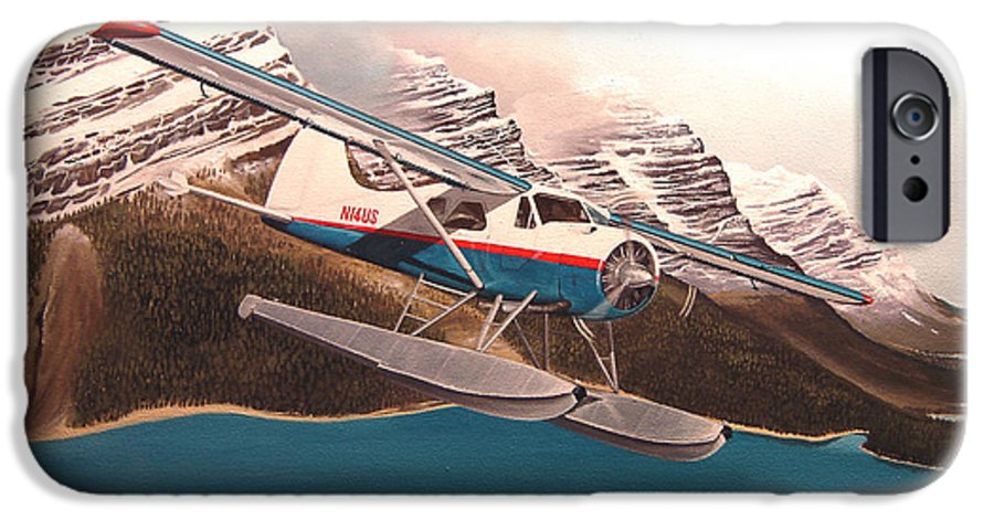 Aviation IPhone 6s Case featuring the painting Bringing Home The Groceries by Marc Stewart