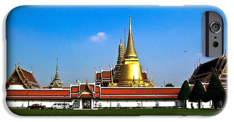 Buddha IPhone 6s Case featuring the photograph Buddhaist Temple by Douglas Barnett