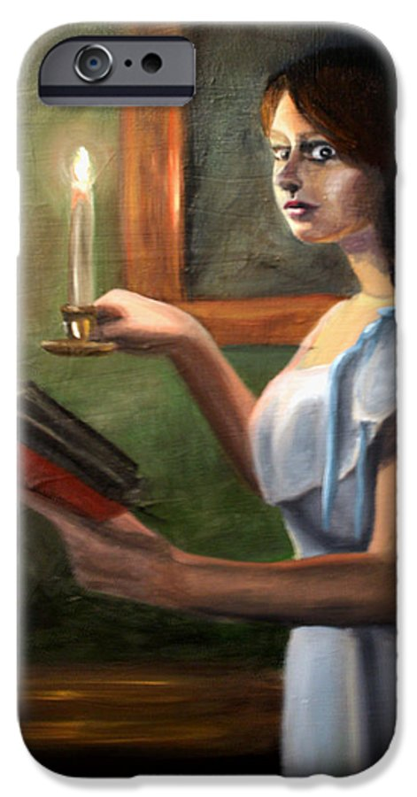 Night IPhone 6s Case featuring the painting Bump In The Night by Maryn Crawford