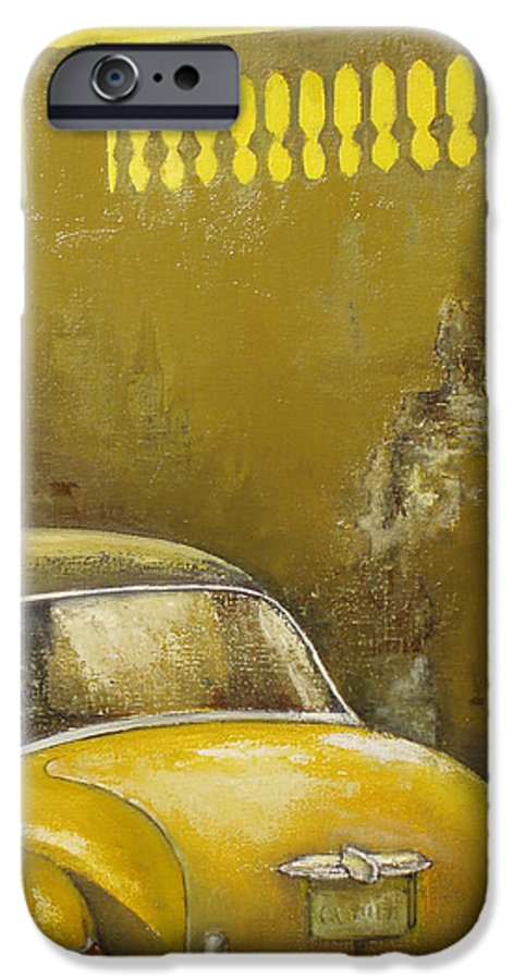 Havana IPhone 6s Case featuring the painting Buscando La Sombra by Tomas Castano