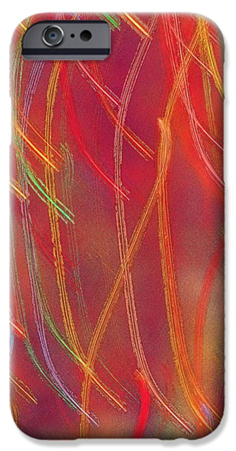 Abstract IPhone 6s Case featuring the photograph Celebration by Gaby Swanson
