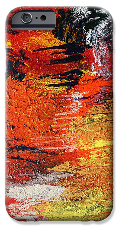 Fusionart IPhone 6s Case featuring the painting Chasm by Ralph White