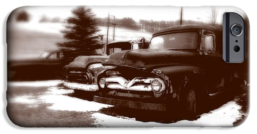 Old Cars IPhone 6s Case featuring the photograph Chocolate Ghosts by Jean Macaluso