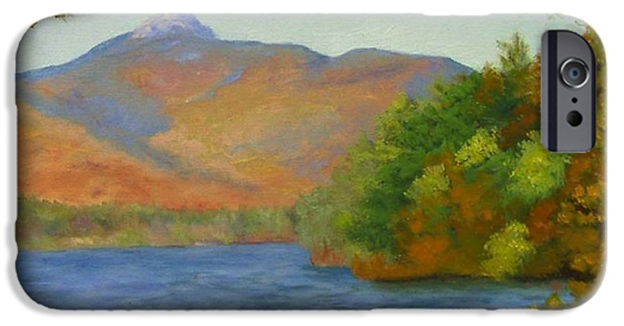 Mount Chocorua And Chocorua Lake IPhone 6s Case featuring the painting Chocorua by Sharon E Allen