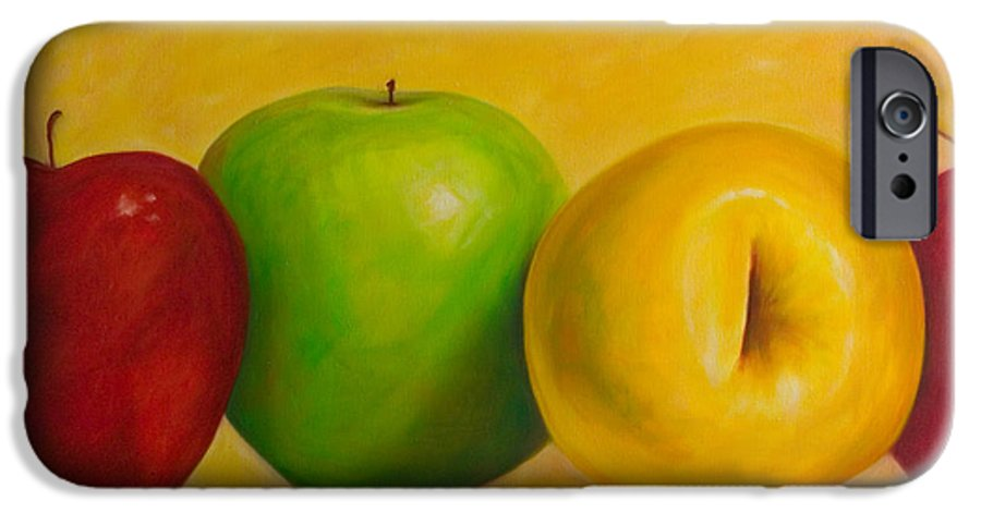 Still Life IPhone 6s Case featuring the painting Chorus Line by Shannon Grissom