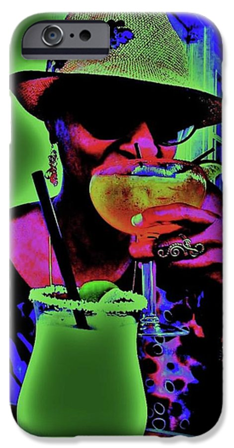 Cocktails IPhone 6s Case featuring the photograph Cocktails Anyone by Diana Dearen
