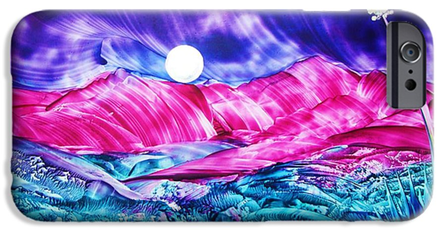 Bold IPhone 6s Case featuring the print Colorful Desert by Melinda Etzold