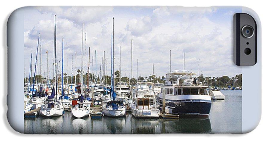 Coronado IPhone 6s Case featuring the photograph Coronado Boats II by Margie Wildblood