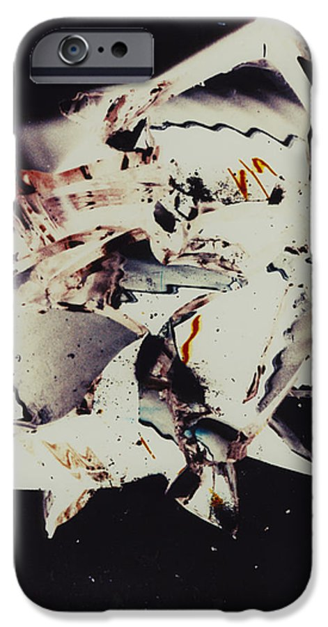 Abstract IPhone 6s Case featuring the photograph Craft by David Rivas